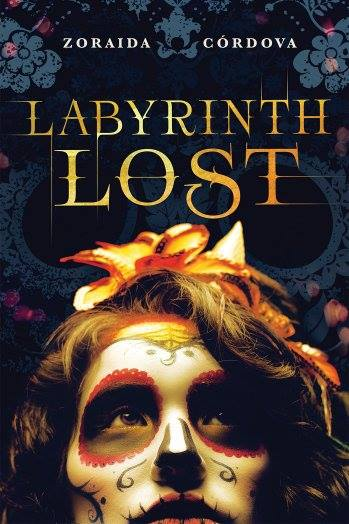 Image may contain: one or more people, text that says 'ZORAIDA CÓRDOVA LABYRINTH LOST'