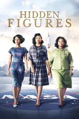 Image may contain: 1 person, standing, text that says 'HIDDEN FIGURES'
