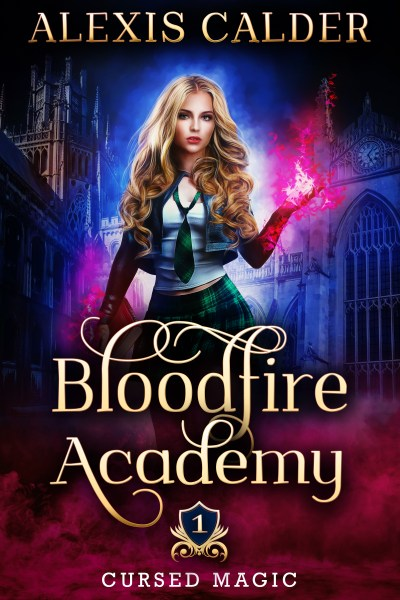 Bloodfire Academy cover