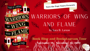 Warriors of Wing and Flame Tour Banner