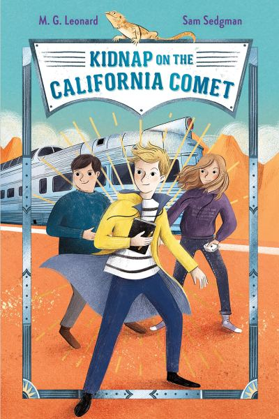 kidnap on the california comet cover