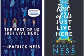 Patrick Ness at Kidsbooks, October 14, 2015