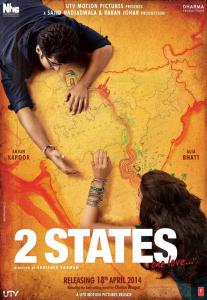 2 States by Chetan Bhagat Adapted into Movie
