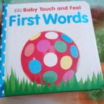First Words Touch And Feel Book by DK Review