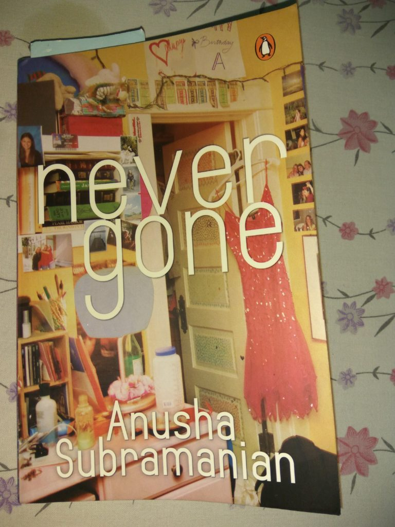 Never gone by anusha subramanium