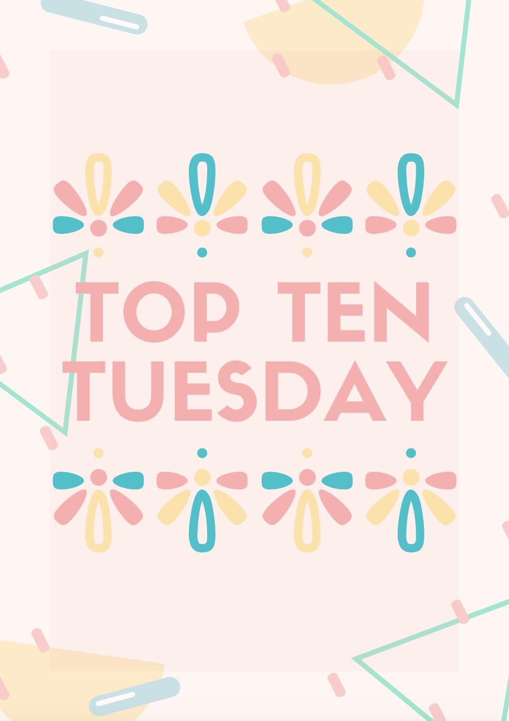Top Ten Tuesday | Favorite Book Quotes