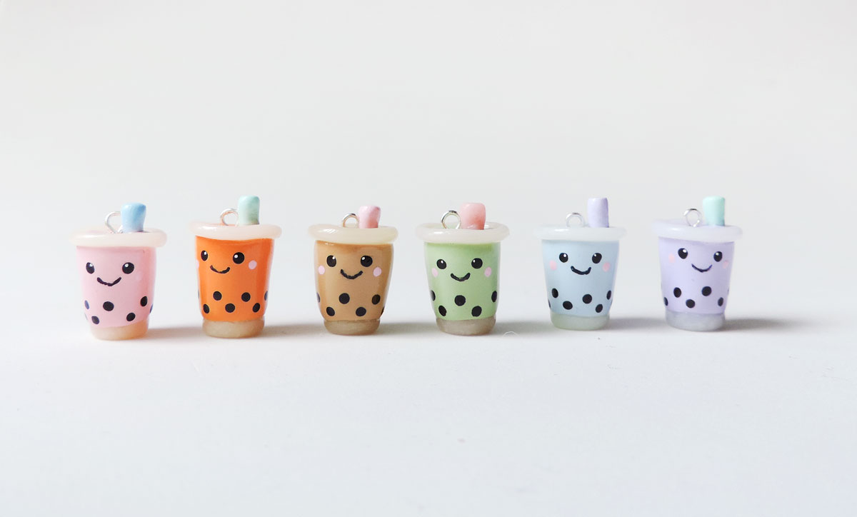 Pick a bubble tea themed goodie.