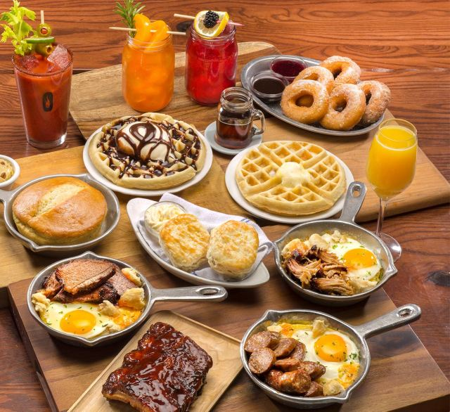 Pick a festive Valentine's breakfast/brunch.