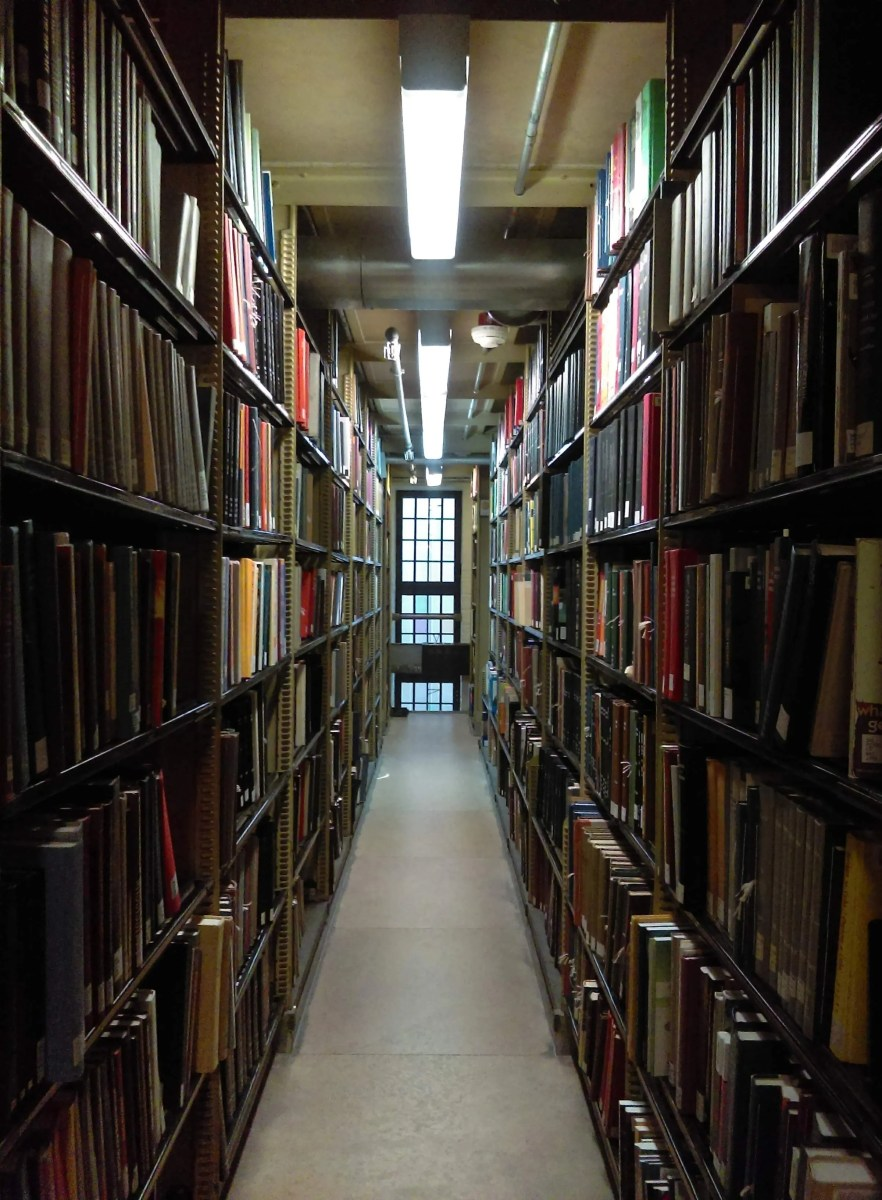 7 Types of People You'll Find in the Sterling Stacks