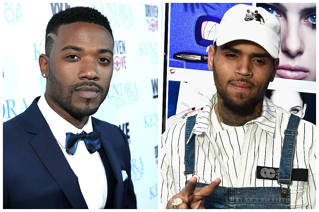 Image result for ray j and chris brown