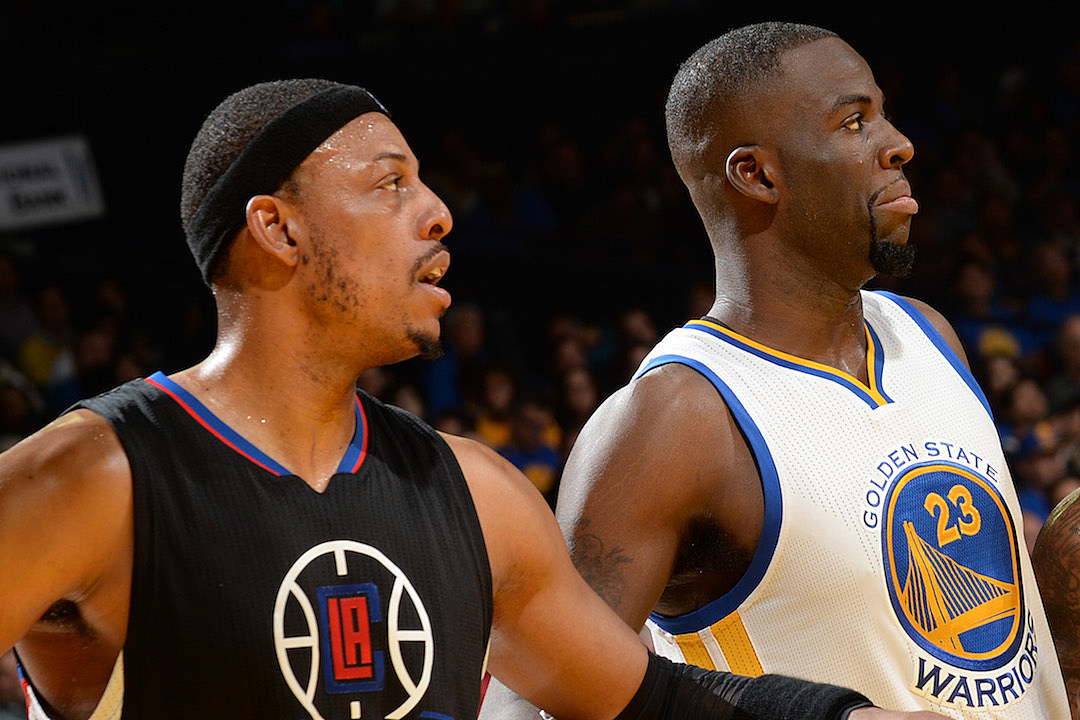 Image result for draymond green and paul pierce