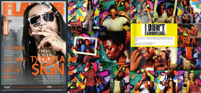 Flavor Magazine Ty DollaSign BoomCase HipHop Germany