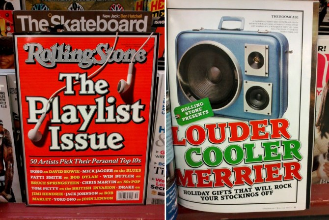 rolling stone boomcase feature magazine cool christmas guide gifts