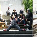 pARIS France BoomCase BoomBox Hip Hop Dance Break Dance Crew Puma The Quest