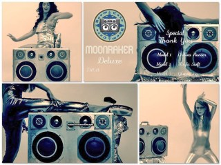 moonraker deluxe moon raker ladies sexy time fun fance spandex skin tight Hawaii BoomBox Bikini Island Life Beautiful BoomCase Sand Beach Palm Trees Suitcase BoomBox Vintage Suitcase Bruno Mars Kaskade Vintage BoomBox Sexy Girl