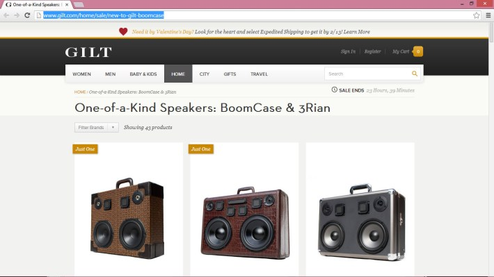 gilt.com sale gilt home boomcase decor interior design sale boombox vintage retro