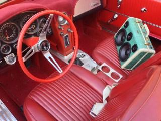 best classic car radio stereo speaker boombox boomcase mercedes skyway LA vintage car vintage boombox stereo radio classic retro