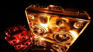 Chrome Gold Shiny Bling Tattoo Tats Tattoos Tatted Up Girl Rocker Chick Punk Girl American Gypsy Sacramento Golden BoomCase Gold BoomBox Vikings History Channel Boomcase sexy girl with sunglasses on and a boomcase at quickly cup sacramento holidays Christmas BoomCase Gift Red Dress Cute Sexy Gold Art installation tapigami Sacramento Downtown Exhibit S Viking England