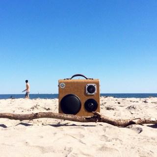 Rockaway Beach BoomCase NYC Brooklyn BoomBox Vintage custom Speaker Portable Bluetooth