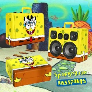 SpongeBob SquarePants BoomBox BoomCase Girafa Artist Painted Speaker Portable Bluetooth Bay Area Graf