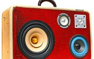 AltonBrown Live BoomCase BoomBox Retro Speaker Blaster Red Gator Bluetooth Portable