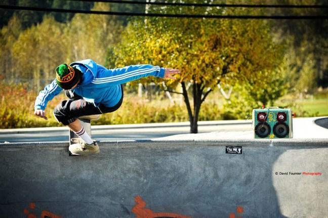 BoomCase Skating Skater Bowl BoomBox Whistler Canda LA