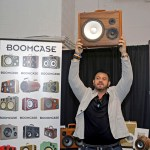 Adam Richman Man Vs Food Food Network BoomCase BoomBox Wood Portable Bluetooth Speaker Say Anything