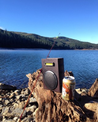 old Book BoomBox BoomCase Speaker Bluetooth Fishing Speaker Waterproof California Ice House Vintage