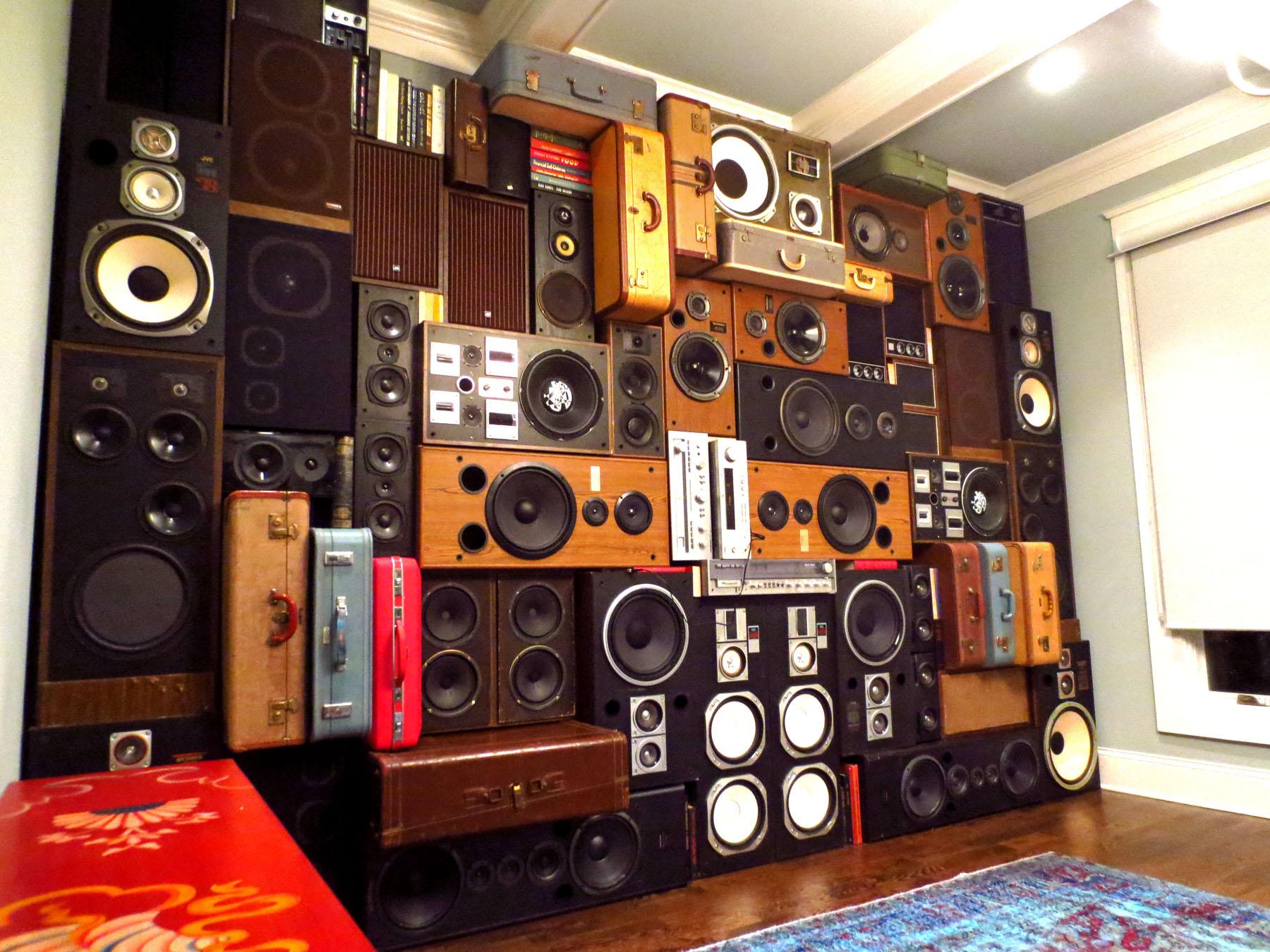 Wall: Nashville Speaker Wall