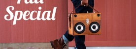 Free Shipping BoomCase BoomBox Fall Sale Wooden Bluetooth Boom Speaker