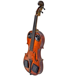 Violin Speaker Vintage Wood BoomCase