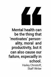 Mental health days would help relieve some of teens' difficulties at school