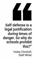 Self defense classes could increase student safety