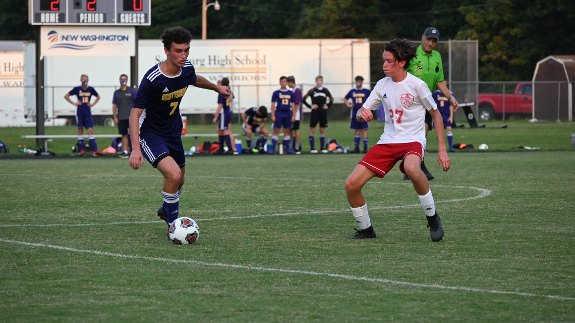 Boys soccer dominates offense, works to break records