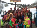 80s Party at Ski Trip #Telluridindirty
