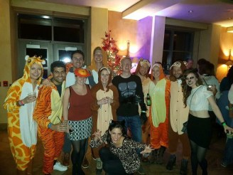 Night at the Zoo Party at Ski Trip #Telluridindirty