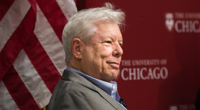 Richard Thaler's Nobel Prize captures the essence of Chicago Booth