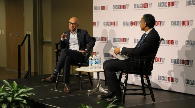 From Engineer to MBA  to CEO: Satya Nadella