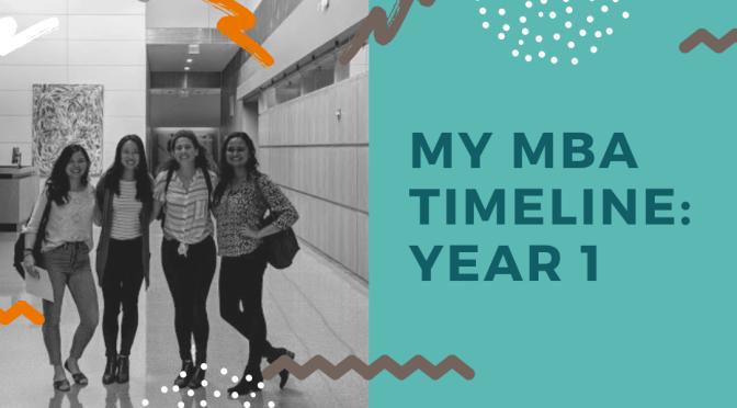 My MBA Timeline: Year 1