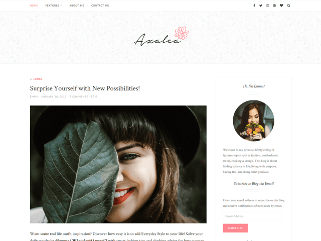 10 best free wordpress lifestyle blog themes