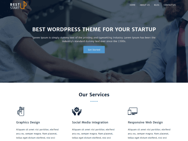 10 best free wordpress blog themes
