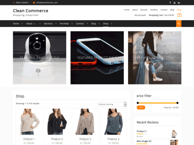 10 Best Free Clean WordPress Themes