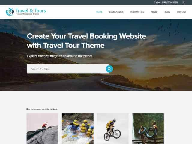 Best Free Travel WordPress Themes