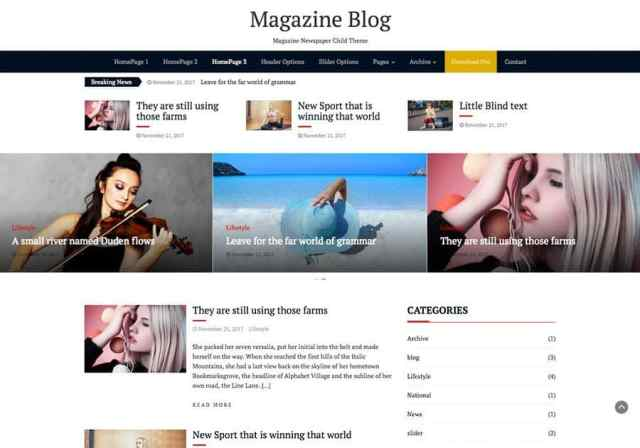 Best Free Magazine Templates 2018 The Bootstrap Themes