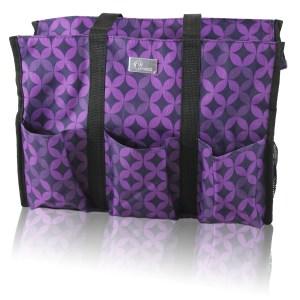 pursetti teacher bag purple_geometric