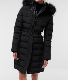 Express Black Winter Jacket