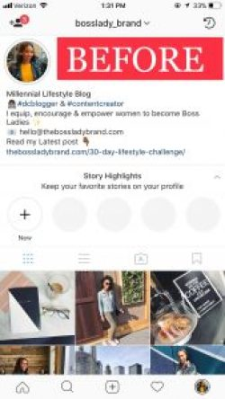 Before how to create Instagram Highlight Covers