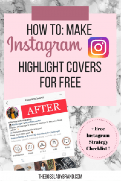 How to: Make Instagram Story Highlight Covers. Here is a quick tutorial on how to create the popular Instagram Highlight Covers for free with Canva. #Instagram #Appsforiphone #free