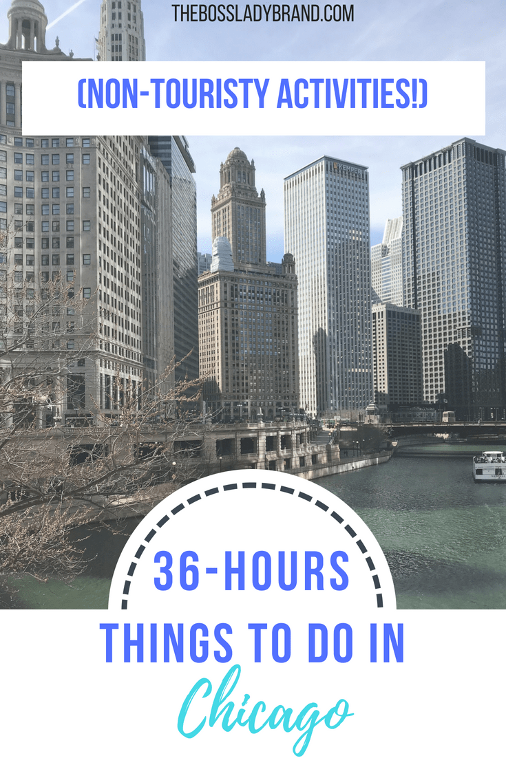 There are so many Fun things to do in Chicago! This is just a few places I visited on my most recent trip to Chicago. If you're looking for nontraditional activities, read more on my list of fun things to do in Chicago. thebossladybrand.com