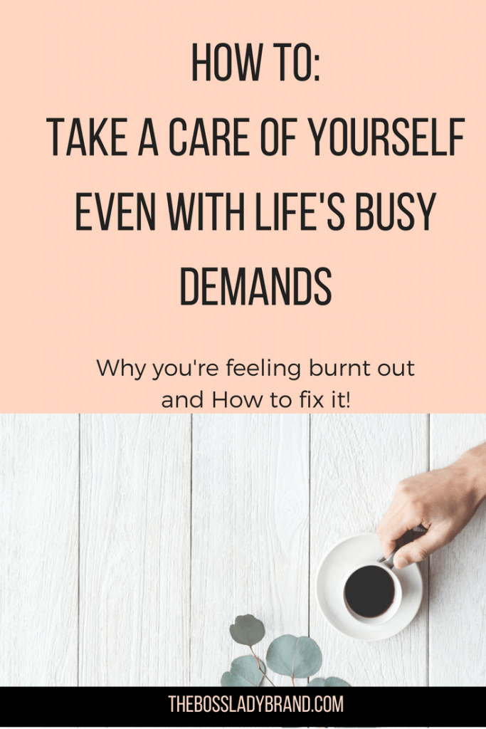 Even when life is busy, you need to find time to take care of yourself! It is only right. Self-Care is becoming more popular and for good reasons. Sometimes you need to step back to gain more clarity. thebossladybrand.com